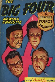 The Big Four by Agatha Christie. Avon edition.