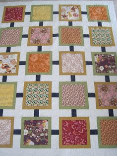 This quilt pattern is perfect for Asian Inspired prints! Finely Finished Quilts April 22, 2013