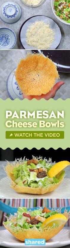 Parmesan Cheese Bowls