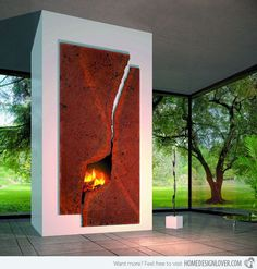 15 Modern Custom Fireplaces To Choose From For Your Homes | Home ... This model is an imposing and prestigious version of the Metafocus 6.  The Cosmofocus shown here (H 2.50 m x W 1.20 m) is a custom-designed piece that is numbered and signed. Each Cosmofocus is made to measure.