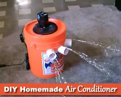 DIY 5 Gallon Bucket Air Conditioner - Can cool any room just as well as any other air conditioner...