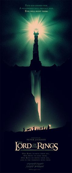 Mondo Releases Gorgeous New 'Lord of the Rings' Posters from Olly Moss