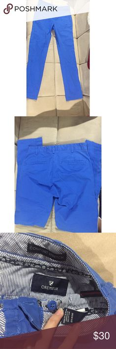 Cremieux Blue Men's Chino Pants NWOT Never worn. OFFERS WELCOME Daniel Cremieux Pants Chinos & Khakis