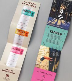 TÅPPED Birch Water on Packaging of the World - Creative Package Design Gallery