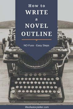 Writing your novel is like starting a business, it has to be executed properly. You'll find hundreds of articles on the internet telling you how to write a