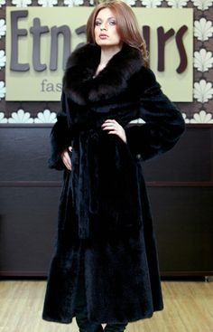Long velvet mink coat | Luxury | Pinterest | Mink