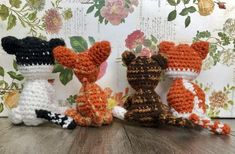 Miniature Custom Cats Crochet Gifts In Memory Mini Funny Crochet Cats, Cute Messages, Main Colors, Create Yourself, I Am Awesome, Miniatures, Pets, Creative, Funny