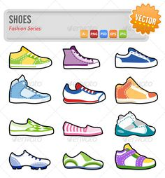 12 Shoes  #GraphicRiver         Vector set of 12 different shoes.  	 Ai, Eps, Psd, Jpeg and Transparent Png files.     Created: 25March13 GraphicsFilesIncluded: PhotoshopPSD #TransparentPNG #JPGImage #VectorEPS #AIIllustrator Layered: Yes MinimumAdobeCSVersion: CS Tags: accessories #athlete #athletic #basketball #casual #converse #design #fashion #foot #football #footwear #gym #icon #illustration #logo #run #sale #set #shoes #shopping #sneakers #sport #street #style #symbol #vector #vintage