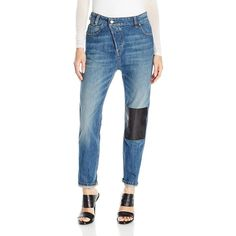 Vivienne Westwood Anglomania Women's New Boyfriend Jeans featuring polyvore women's fashion clothing jeans vivienne westwood boyfriend jeans boyfriend fit jeans vivienne westwood jeans blue jeans