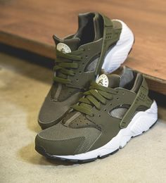 outlet store 8d794 18399 Nike Huarache in Olive --  SHIEKH Kids Footwear, Huarache Run, Black Nikes