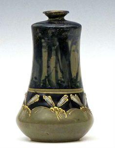 Декоративно-прикладное искусство, от decoro - украшаю: Stellmacher & Kessel Riessner - Art Nouveau Amphora Vase