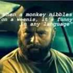 """""""The Hangover Part 2 Movie """" with Zach Galifianakis as Alan Movies and Funny Movie Quotes when a monkey nibbles on a weenis, it's funny in any language November 2013 Funny Movies, Good Movies, Awesome Movies, You Funny, Hilarious, It's Funny, Funny Things, Favorite Movie Quotes, Movie Quotes"""