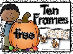 Welcome to Teaching with Nancy!  These fall pumpkin ten frames will give yours students practice matching ten frames to corresponding numerals.    These activities are suitable for independent learning stations or guided small group instruction.    LANGUAGE: English  Spanish   GRADE(S): Preschool Kindergarten  SKILLS: Ten Frames Numerals 0-10 1:1 Correspondence   HOW TO USE:  Option 1: Have students match up the numerals 0-10 to their corresponding ten frame.