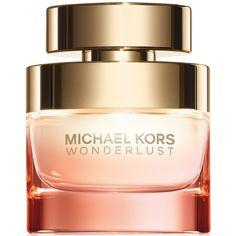 Michael Kors Wonderlust Eau de Parfum, 1.7 oz (€78) ❤ liked on Polyvore featuring beauty products, fragrance, perfume, no color, eau de perfume, flower perfume, michael kors fragrance, eau de parfum perfume and blossom perfume