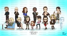 Orphan Black - Character Art