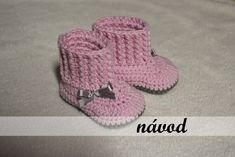 """Návod-háčkované botky """"sněhulka"""" Vlastní návod na háčkované botičky pro nejměnší, který obsahuje detailní popis doplněný o fotografie (cekem 19 stran s více jak 40ti fotografiemi) :-) Velikost: 3-6 měsíců (délka 10 cm) Návod zasílám emailem ve formátu pdf po připsání penízlů na účet. V případě jakýchkoli dotaz mě neváhejte kontaktovat. Baby Shoes, Knitting, Crochet, Tricot, Baby Boy Shoes, Cast On Knitting, Chrochet, Stricken, Crocheting"""