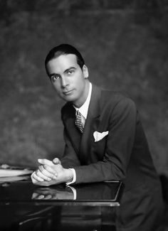 Cristobal Balenciaga - Spanish fashion designer who is greatly known for haute couture during the 1950's // was also an editor of Harper's Bazaar who featured his work often in the magazine.