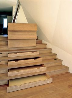 Esker Haus - Amazing Stairs inside and out