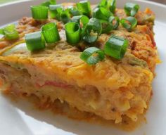 spaghetti squash and ground beef casserole (Paleo, gluten-free, & grain-free)