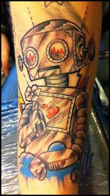 Wall-E robot #tattoo
