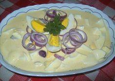 Majonézes tojássaláta 🍽 Evo, Panna Cotta, Pudding, Ethnic Recipes, Desserts, Diet, Hungarian Recipes, Tailgate Desserts, Dulce De Leche