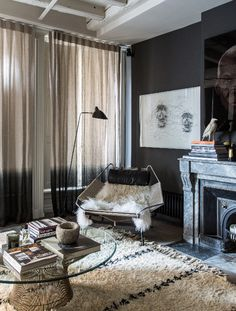 decordemon: Dark shades and dramatic atmosphere in Lyon by Maison Hand