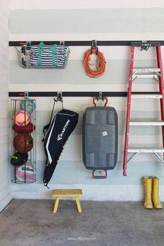 Easy Garage Organizational Tutorial + Tips!