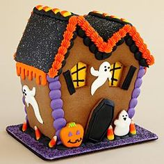 Personalized Gingerbread Haunted House