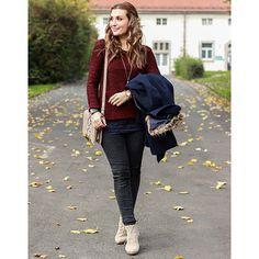 Der Winter muss nicht grau sein. Eine tolle Winter Look Inspiration gibt es heute von unserer Fashionbloggerin Johanna.Diesen Look gibt es jetzt zum Nachshoppen in unseren Shops. #mycolloseum #bloggerschoice #getthelook