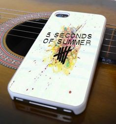 5 seconds of summer for iphone 4/4s case, iphone 5/5s/5c case, samsung s3 case, samsung s4 on Etsy, $13.76