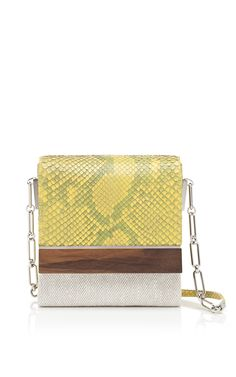 Shop Devi Kroell Daffodil Hamptons Collection L'Avenue Shoulder Bag at Moda Operandi