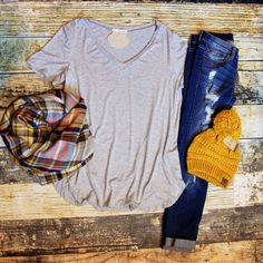 Bella Top Plus size! Fall outfit!