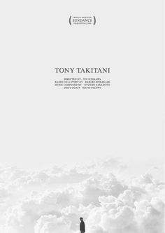 White Out Film Plakat für den Film Tony Takitani Graphic Design Posters, Graphic Design Typography, Graphic Design Illustration, Graphic Design Inspiration, Branding Design, Minimal Graphic Design, Dm Poster, Poster Layout, Book Layout