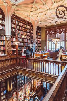 How to visit Livraria Lello in old town Porto, Portugal. Looking for the most beautiful bookshop in Porto? Here's a quick guide on insider tips for visiting and nearby things to do
