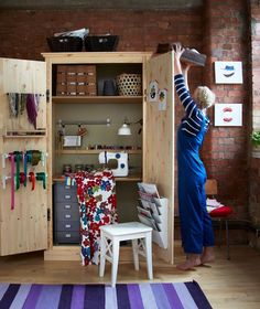 Re-purpose an Armoire (new or old)