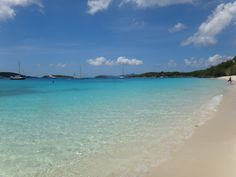 It just doesn't get any better than this.......Honeymoon Beach St John, USVI