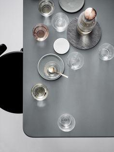 menu by norm stackable glassware