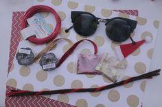 super cute DIY Christmas sunglasses!
