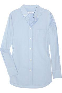 Equipment Boyfriend-fit cotton shirt