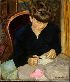 The Letter (1906), oil on canvas, National Gallery of Art ▓█▓▒░▒▓█▓▒░▒▓█▓▒░▒▓█▓ Gaby-Féerie : ses bijoux à thèmes ➜ http://www.alittlemarket.com/boutique/gaby_feerie-132444.html ▓█▓▒░▒▓█▓▒░▒▓█▓▒░▒▓█▓