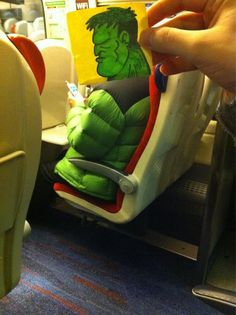 These pictures are hilarious! This Guy Has An Ingenious Solution For Avoiding Boredom On The Train