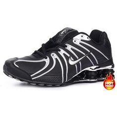 www.asneakers4u.com Mens Nike Shox OZ Black White