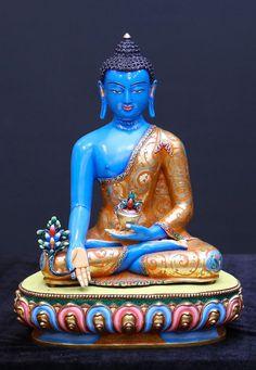 Buda De La Medicina Sangye Menla