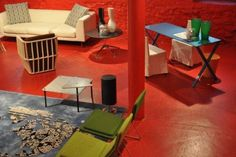 ICFF New York 2013 - A.S. @ Cappellini showroom in Soho