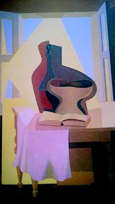 El Libro Blanco (1946-47) Emilio Pettoruti 20th Century Painters, Cubist Art, Georges Braque, Spanish Painters, Emilio, European Paintings, Modern Artists, Art Plastique, Art Deco