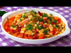 Nagyon kevesen készítik így a babot. Ez a recept lenyűgözött!| Ízletes TV - YouTube Chana Masala, Romanian Food, Ethnic Recipes, Ideas, Onion, Ethnic Food, French Fries, Beans Recipes, Food