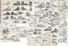 Shoe design by D. Cin