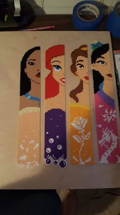 Disney Princess Perler Beads