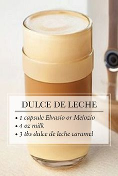 Nespresso Dulce de Leche Coffee | Embrace the sweeter things in life with this creamy confection that features the delightful interplay of soft coffee aromas and the creamy flavor of dulce de leche caramel.