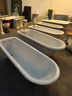 Victorian roll top baths